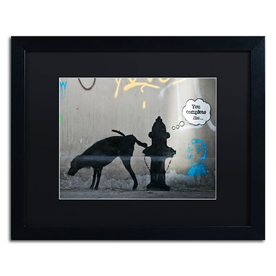 Trademark Fine Art Banksy You Complete Me 16 x 20 (886511716568)