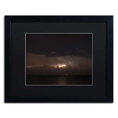 Trademark Fine Art Kurt Shaffer Big Dipper Thunderstorm 16 x 20 (886511704848)