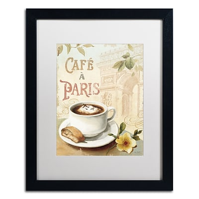 Trademark Fine Art Lisa Audit Cafe in Europe I 16 x 20 (WAP0187-B1620MF)