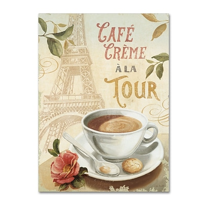 Trademark Fine Art Lisa Audit Cafe in Europe II 35 x 47 (WAP0188-C3547GG)