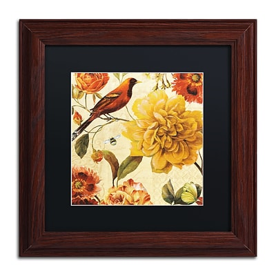 Trademark Fine Art Lisa Audit Rainbow Garden Spice II 11 x 11 (886511710511)