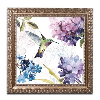 Trademark Fine Art Lisa Audit Spring Nectar Square II 16 x 16 (WAP0236-G1616F)