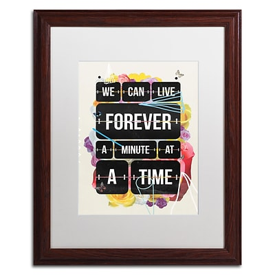 Trademark Fine Art Kavan & Co Time of Your Life 16 x 20 (ALI0615-W1620MF)