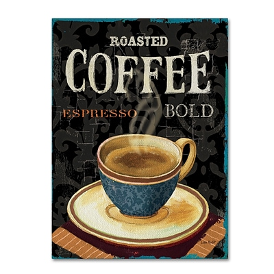 Trademark Fine Art Lisa Audit Todays Coffee IV 14 x 19 (WAP0179-C1419GG)