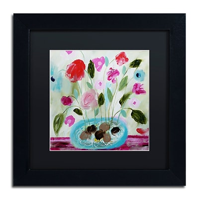 Trademark Fine Art Carrie Schmitt Winter Blooms II 11 x 11 (886511734180)