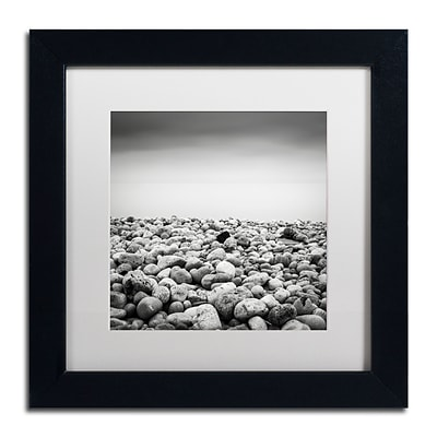 Trademark Fine Art Dave MacVicar Pebble Beach 11 x 11 (ALI0844-B1111MF)