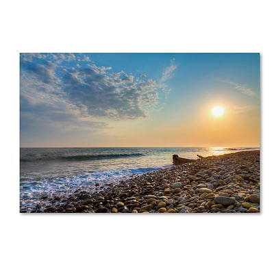 Trademark Fine Art Chris Moyer Rockin Sunset 12 x 19 (ALI0770-C1219GG)