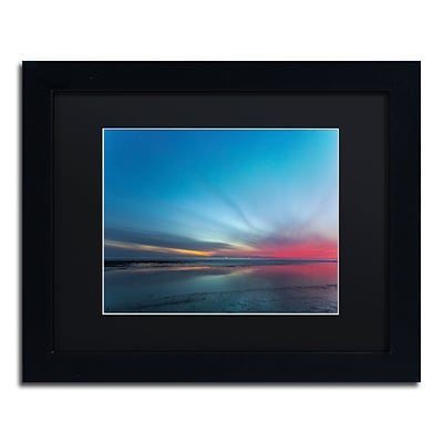 Trademark Fine Art Chris Moyer Blue Hour 11 x 14 (886511730922)
