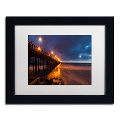 Trademark Fine Art Chris Moyer Night Side 11 x 14 (ALI0768-B1114MF)