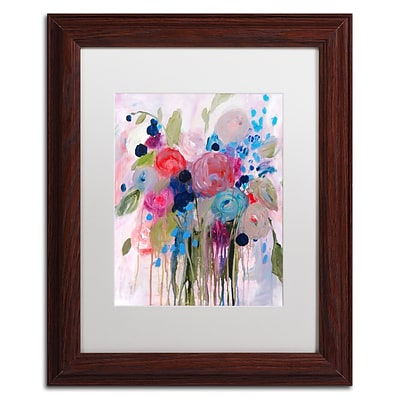 Trademark Fine Art Carrie Schmitt Fresh Bouquet 11 x 14 (ALI0787-W1114MF)