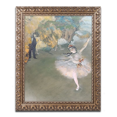 Trademark Fine Art Edgar Degas The Star 1876 11 x 14 (BL0276-G1114F)