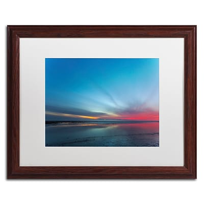 Trademark Fine Art Chris Moyer Blue Hour 16 x 20 (ALI0760-W1620MF)
