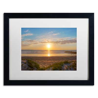 Trademark Fine Art Chris Moyer Pierpont Sunset 16 x 20 (ALI0766-B1620MF)