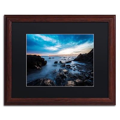 Trademark Fine Art Chris Moyer Bacara Twilight 16 x 20 (886511732513)