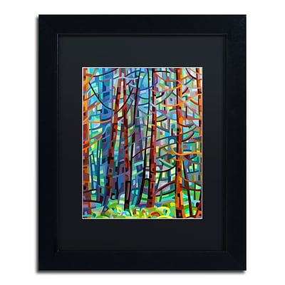 Trademark Fine Art Mandy Budan In A Pine Forest 11 x 14 (886511754003)