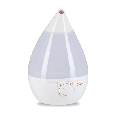 Crane Drop Ultrasonic Cool Mist Humidifier White (EE-5301W)