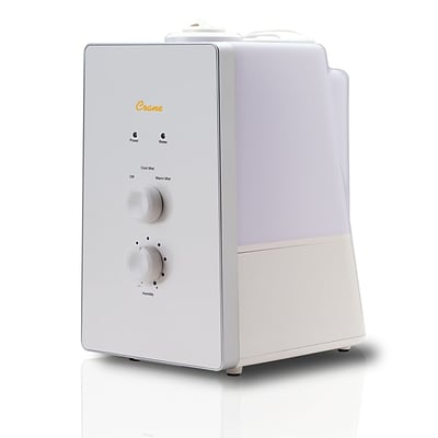 Crane Clean Control Warm & Cool Mist Humidifier (EE-8065)