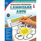 Interactive Notebooks Language Arts Grade 1 Resource Book Paperback (104652)
