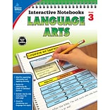 Interactive Notebooks Language Arts Grade 3 Resource Book Paperback(104654)