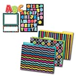 Carson-Dellosa Colorful Chalkboard Multi-Color Organization Set (144925)