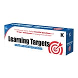 Learning Targets and Essential Questions K Pocket Chart Cards (158057)