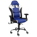Pit Stop Furniture Racing Style Executive Chair; Navy