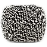JAM Paper® Bakers Twine, 500 Yards, Black and White, Sold Individually (349527466)