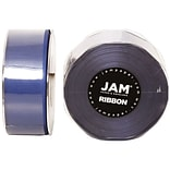 JAM Paper® Double Faced Satin Ribbon, 1.5 Inch Wide x 25 Yards, Royal Blue, Sold Individually (808SA