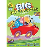 Big Workbook Dot-to-Dots, Ages 4-6, Grades PreK-1, Softcover (SZBWB-06347)