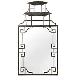 A&B Home French Chic Garden Decorative Wall Mirror
