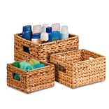 Honey-Can-Do 3-Pack Nesting Natural Baskets