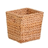 HCD Med Tall Sq. Water Hyacinth Basket NAT