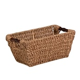 HCD Small Seagrass Basket w Handles Natural