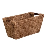 HCD Med Seagrass Basket w Handles Natural
