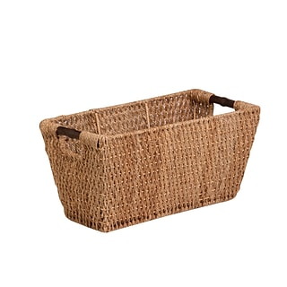 Honey Can Do Large Seagrass Basket with Handles Natural (STO-02966)