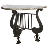 A&B Home French Chic Garden Console Table