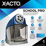 X-ACTO School Pro 1670 Electric Pencil Sharpener