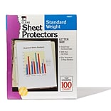 Sheet Protectors Polypropylene Clear 81/2x1