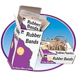 Rubber Bands 3-1/2 x 1/8 Approx 140