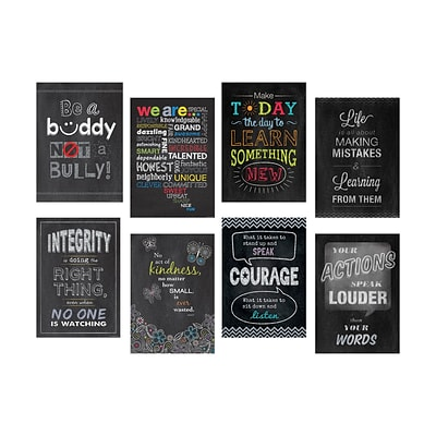 13 x 19 Inspire U 8-Poster Pack (CTP6686)