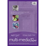 Pacon Art1st Mixed Media Art Paper, 12 x 18, White, 60 Sheets (PAC4843Q)
