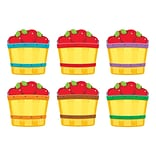 Classic Accents 5.5 x 6 Apple Baskets Variety Pack; Multicolor (T-10949)