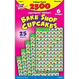 The Bake Shop, cupcake, sticker,, 2500/Pk