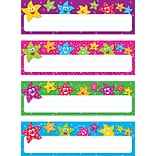Dancing Stars Toppers Name Plates Variety 3