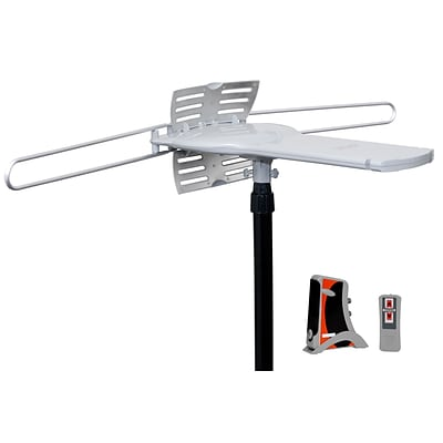 Nutek Remote Control 360° Motorized Rotating Antenna w/50 Coaxial Cable, 28 - 35 dB Gain (AT-2700)