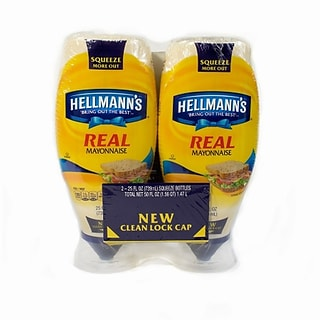 Hellmanns Real Mayonaise 2 Count (220-00476)