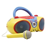 Kids Audio CD Player Karaoke Machine W Mic