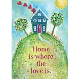 LANG Loving Home 12 x 18 Mini Garden Flag (1700000)