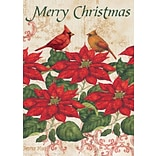 LANG Poinsettia 12x18 Mini Garden Flag (1700011)