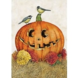 LANG Happy Jack-O-Lantern 12 x 18 Mini Garden Flag (1700013)